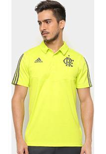 Camisa Polo Flamengo Adidas Treino Masculina - Masculino