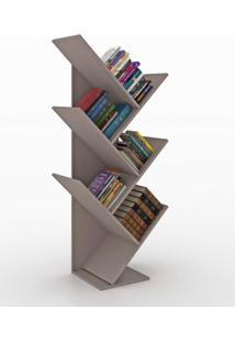 Estante Para Livros Diagonal Spine Siena Móveis Mountain