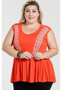 Blusa Feminina Sem Mangas Bata Plus Size Marisa