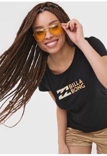 Camiseta Billabong Made Of Sun Preta - Kanui