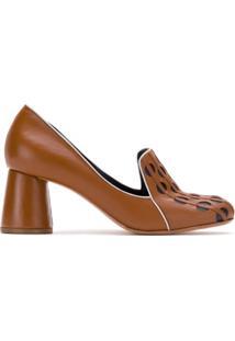 20f5347b84 Sapato Couro Vazado feminino