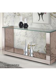 Aparador Brilhance Liso- Incolor & Espelhado- 80X160Rg Móveis