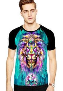 Camiseta Stompy Raglan Modelo 16 Masculina - Masculino