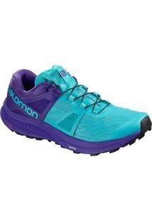 Tênis Salomon Ultra Pro Feminino - Feminino-Azul