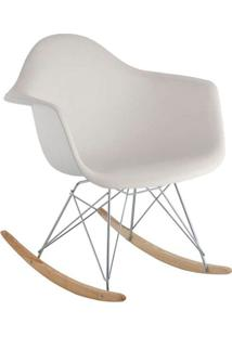 Cadeira De Balanço Eames Eiffel Branca