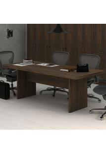 Mesa De Reunião Rústico Me4119 - Tecno Mobili