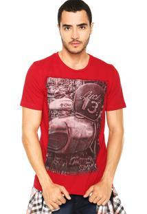 Camiseta Sommer Lucky Vermelha