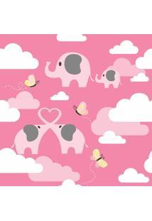 Papel De Parede Elefantes Nas Nuvens