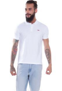 ... Camisa Polo Levis Classic Batwing Branca Branco 02d256ad2f2c2
