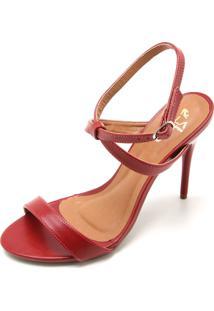 Sandália Ala Lisa Vermelha