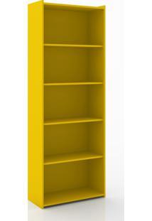 Estante Biblioteca Móvel Bento Amarelo
