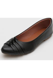 Sapatilha Dafiti Shoes Tiras Preta