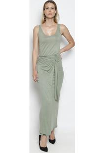 1af09d409 Vestido Transpassado Verde feminino | Starving