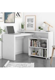 Escritório Completo Bko18 Branco - Brv Móveis