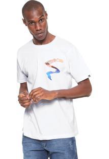 Camiseta Quiksilver Jangada Branca