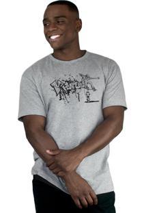 Camiseta Ventura Trouble Jumper Cinza Mescla