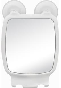 Espelho Para Box Com Ventosa Astra - Branco