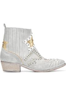 Strategia Ankle Boot - Cinza