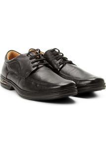 Sapato Social Conforto Rafarillo Air Masculino - Masculino-Preto