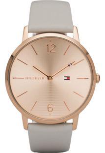02e1726dffb Relógio Digital Branco Tommy Hilfiger feminino