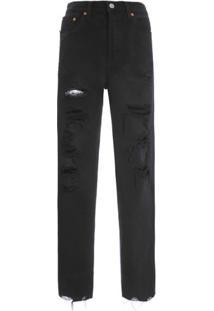 b2800a7f1 ... Calça Jeans 501 Cropped Levi'S Women'S - Preto