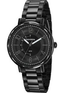 Relógio Analógico Mondaine Feminino - 53677Lpmvpe3 Preto