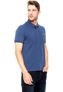 Camisa Polo Sergio K Regular Azul