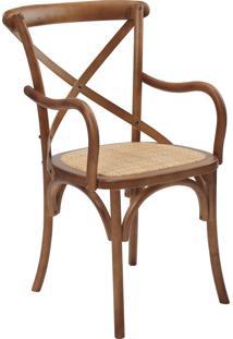 Cadeira Katrina Com Braços Betula Rivatti Móveis