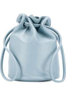 Mansur Gavriel Bolsa Saco Com Cordão De Ajuste - Azul