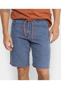 Bermuda Jeans New Skate Comfort Austin Masculina - Masculino-Jeans
