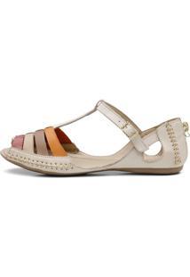 Sandalia Sapatilha Top Franca Shoes Moleca Bege