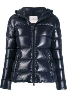 Moncler Rhin Fitted Zip-Up Jacket - Azul