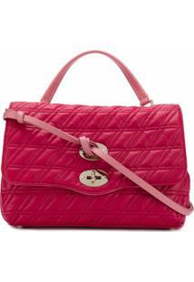 Zanellato Quilted Shoulder Bag - Rosa