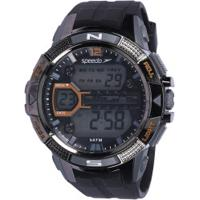 bc2d33b8b63 Relógio Digital Speedo 81111G0 - Masculino - Preto Cinza