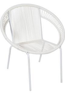 Poltrona Cancun 1165-Or Design - Branco