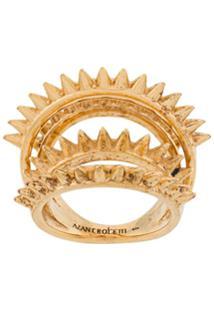 Alan Crocetti Anel Space - Dourado