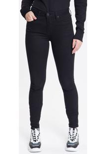 Calça Color Five Pockets Super Skinny - Preto - 36