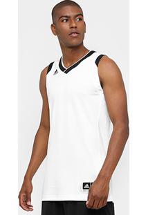 Camiseta Regata Adidas Teamstock Masculina - Masculino