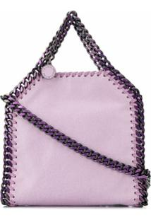 Stella Mccartney Bolsa Transversal Falabella Mini - Roxo