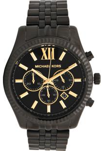 Relógio Michael Kors Mk8603/1Pn Preto