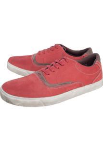 Sapatênis Couro Dafiti Shoes Vermelho