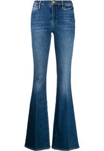 Frame Calça Jeans Slim Flare - Azul