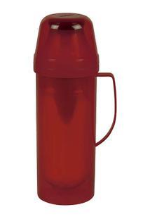 Garrafa Térmica Diva 1 Litro - Unissex-Vermelho