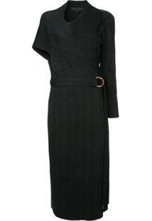 Proenza Schouler Vestido Acinturado - Preto