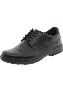 Sapato Masculino Social Preto Pegada - 21210