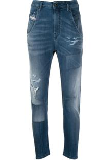 Diesel Calça Jeans Fayza - Azul