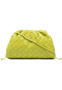 Bottega Veneta Bolsa The Mini Pouch Intrecciato - Verde