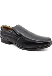 Sapato Masculino Rafarillo Couro - Masculino-Preto