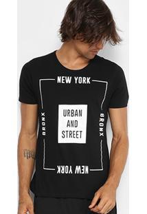 Camiseta Kohmar Gola Careca Urban And Street Masculina - Masculino