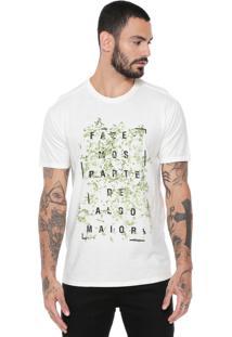 Camiseta Reserva Algo Maior Off-White